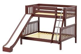 gorgeous twin bunk bed with slide top kids twin over full bunk