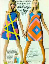 Sixties Paper Dresses Premium Off For Paper Dresses From Breck