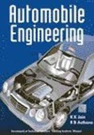 automobile engineering 1st edition buy automobile engineering