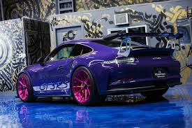 porsche 911 gt3 modified ultraviolet purple porsche 911 gt3 rs adv5 2 m v2 advanced