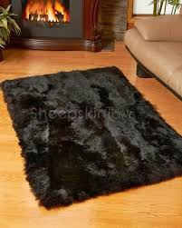 Large Black Area Rug 26 Best Sheepskin Rugs Images On Pinterest Area Rugs Condos And