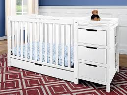 Sorelle Princeton 4 In 1 Convertible Crib With Changer by Baby Crib With Attached Changing Table Crib U2014 Thebangups Table