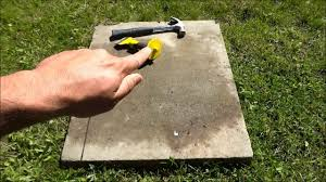 How To Cut Patio Pavers How To Cut A Paver With A Chisel