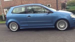volkswagen polo black modified vw volkswagen polo 9n3 modifications youtube