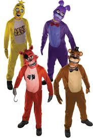 Halloween Costumes From Video Games Five Nights At Freddys Kids Fancy Dress Halloween Horror Video
