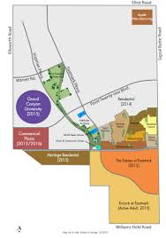 Map Of Mesa Az Development At Eastmark From Homes To Major Employment Centers