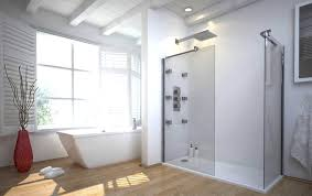 Open Shower Bathroom Breathtaking Open Shower Digihome Living Room Ideas Rectangle