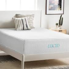 gel foam mattresses you u0027ll love wayfair