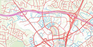 Reston Virginia Map by New Map Shows Who Maintains Roads In Fairfax County