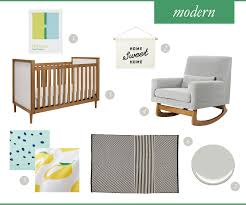 classic vs modern inspired nursery u2013 a casual curation