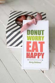 Thanksgiving 2014 Gifts Donut Worry Eat Happy