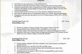 Medical Coder Resume Samples by Medical Billing Medical Coding Resume Sample More Cpc Resume