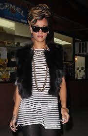 hair styles for big and high cheek bone hairstyles haircuts african american pixie haircut rihanna 2010