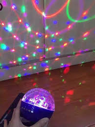 led disco ball light bluetooth party led disco ball speaker boom wireless light show