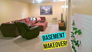 basement room makeover 2017 youtube