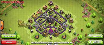 coc village layout level 5 clash of clans town hall level 5 defense th 5 war base good