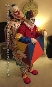 Evil Clown Halloween Costume 1086 Clown Carnevil Haunt Ideas Images