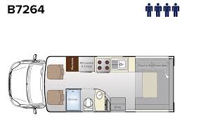 esperance motorhome floorplans