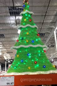 costco trees decorations lights 2013