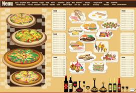 25 free restaurant menus covers psd and vector files