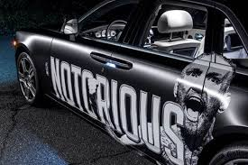rolls royce truck conor mcgregor gifted custom u0027notorious u0027 rolls royce for ufc 205