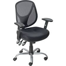 quill acadia blk mesh task mid back chair quill com