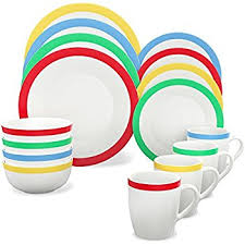 vremi 16 dinnerware set service for 4