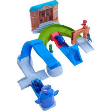 pj masks rival racers track playset play toys kids