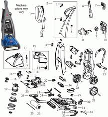 Hoover Rug Shampooer Parts Bissell 7350 Prodry Carpet Cleaner Parts With Regard To Hoover