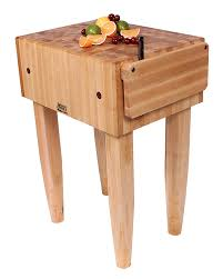 amazon com john boos pca2 maple wood end grain solid butcher amazon com john boos pca2 maple wood end grain solid butcher block with side knife slot 24 inches x 18 inches x 10 inch top 34 inches tall natural maple