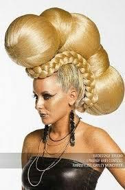 history of avant garde hairstyles 546 best avant garde hair images on pinterest braids daydream
