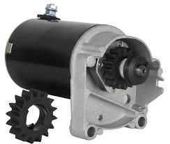 starter motor fits briggs u0026 stratton 14 16 18 hp starter 497596 v