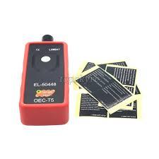 car tire pressure monitor sensor tpms reset tool el 50448 oec t5 f