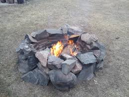 Rock Firepits Remarkable Design Pit Rocks Winning How To Build A Rock