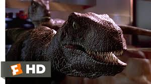 jurassic park 9 10 movie clip raptors in the kitchen 1993 hd
