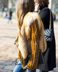 long hair equals hippie fur vest 70 s inspired top golden yellow stylish pinterest