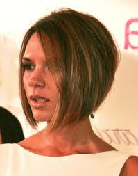 haircuts for shorter in back longer in front bob haircuts short in back long in front victoria beckham longer