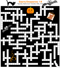 halloween puzzles container gardening with katg cubit cubits crossword 10 scary