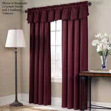 curtain high end velvet burgundy blackout and thermal luxury