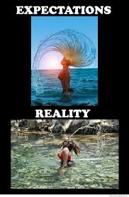 Mermaid Meme - 25 expectation vs reality memes most people can relate to 3 is