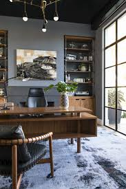 fascinating masculine office decor the owners home office