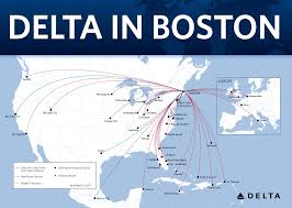 Boston Logan Airport Map Delta Builds On Position As Leading Global Carrier In Boston