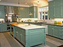 kitchen teal kitchen cabinet with white wall color for retro