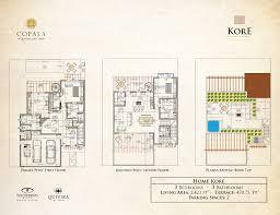 Luxury Townhouse Floor Plans Copala Los Cabos Luxury Homes