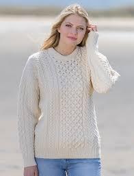 womens sweater sweaters cable knit cardigan knitwear aran