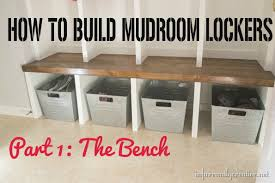 how to make entryway bench mudroom locker final reveal infarrantly creative