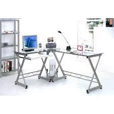 Glass L Shaped Desk Office Depot Glass Desk Office Depot Of Desks Glass L Shaped Desk Of Depot