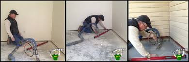 slab floor leveling contractor fixing settled slab floors concrete