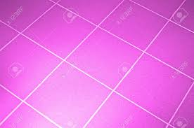 Pink Tile Ceramic Tile Floor Pink Color Shallow Dof Stock Photo Picture
