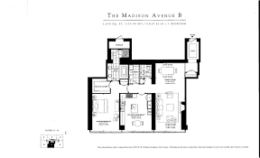 Ritz Carlton Floor Plans by Ritz Carlton Condo Toronto Real Estate Floor Plan Madison Ave 1 Bed